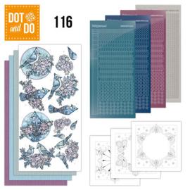 Dot an Do 116 Yvonne Creations - Winter DODO116