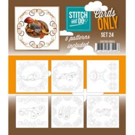 Stitch & Do - Cards only - Set 24 COSTDO10024