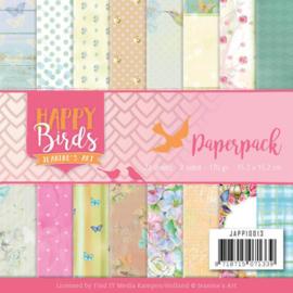 Paperpack - Jeanine's Art - Happy Birds JAPP10013
