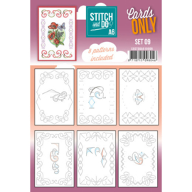 Stitch and Do - Cards Only - Set 09 COSTDOA610009