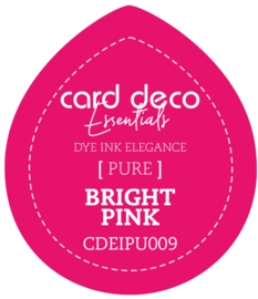 Card Deco Essentials Fade-Resistant Dye Ink Bright Pink CDEIPU009