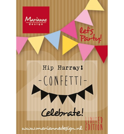 Stempel Marianne Let`s Party PP1403