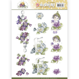 3D Pushout - Precious Marieke - Blooming Summer - Summer Scenes SB10356-HJ17101