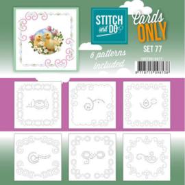 Stitch and Do - Cards Only Stitch 4K - 77 COSTDO10077