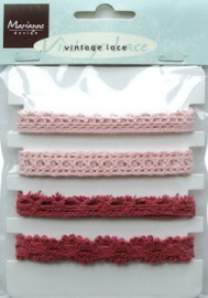 MD Ju0844 Vintage lace pink