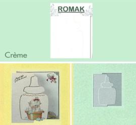 Romak Kaart Creme 3 stuks K3-234-22