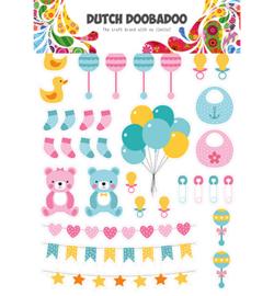 DDBD Dutch Paper Art Baby elements 474.007.010