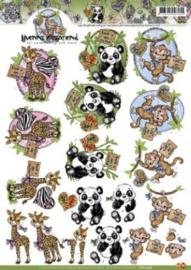 Yvonne Creations - Wilde dieren - CD10348