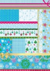 StudioLight Basis HP16 knipvel Kerst groen/rood/blauw/wit A4