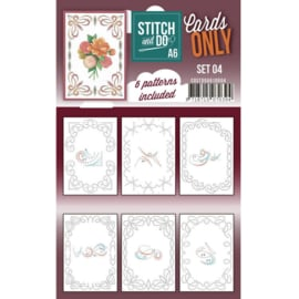 Cards Only Stitch A6 - 004  COSTDOA610004
