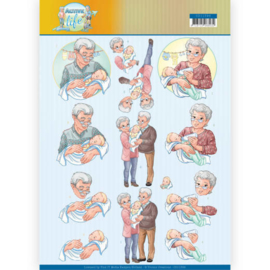 3D Knipvel - Yvonne Creations- Grandparents CD11398