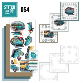 Stitch and Do 54 - Vintage Vehicles STDO054