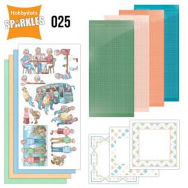Sparkles Set 25 - Active Life SPDO025