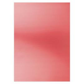 Card Deco Essentials - Metallic cardstock - red CDEMCP008