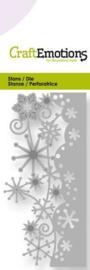 CraftEmotions Die - kristallen ornament rand Card 5x10cm 115633/0196