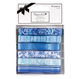 RIBBON (6 X 1MTR) - BURLEIGH BLUE PMA 367121