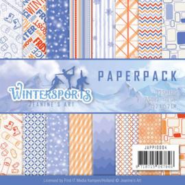 Paperpack - Jeanine's Art - Wintersports JAPP10004