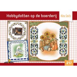 Hobbydols 217 Hobbydotten op de boerderij - Aline Smits HD217