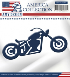 Die - Amy Design - America Collection - Bike USAD10004