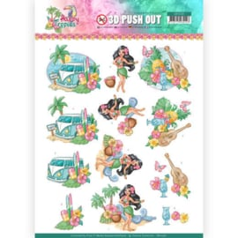 3D Pushout - Yvonne Creations - Happy Tropics -Tropical Holiday SB10361
