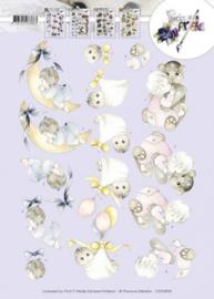 3D Knipvel - Precious Marieke - Geboorteknuffels CD10809