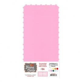 Frame Cards - Lovely - Vierkant - Roze FC4K1000416