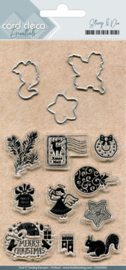 Clear stamps & Cutting Die  CDESD003