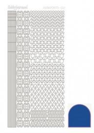 Hobbydots sticker Mirror Blue 012 STDM12A