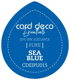 Card Deco Essentials Fade-Resistant Dye Ink Sea Blue CDEIPU015