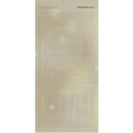 Hobbydots Sticker - Pearl  - 17 Gold STDP171