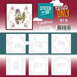 Stitch and Do - Cards Only Stitch 4K - 78 COSTDO10078