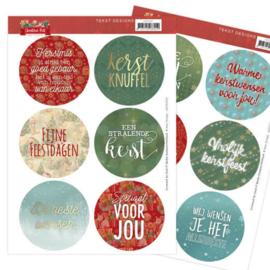 Tekst Designs - Amy Design - Christmas Pets (NL) ADTD1001