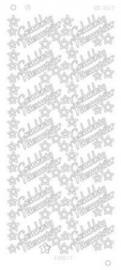 Find it CD 3017 Gelukkig Nieuwjaar Platinum zilver