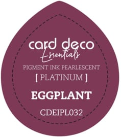 Card Deco Essentials Fast-Drying Pigment Ink Pearlescent Eggplant CDEIPL032
