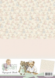 Amy Design - Baby Collection - Paperpack background sheets 3 ADPP10013