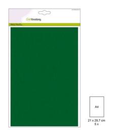 1 PK (1 PK) Papiervel-CV dennegroen 5 ST A4 90GR 001345/0047