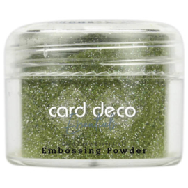 Card Deco Essentials - Embossing Powder Glitter Green 30 Gr CDEEP011