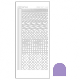 Hobby dots sticker Mirror Violet 019 STDM196