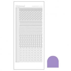 Hobby dots sticker Mirror Violet 019 STDM196