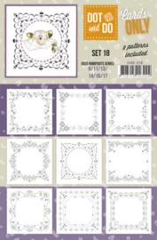 Dot & Do - Cards Only - Set 18 CODO018