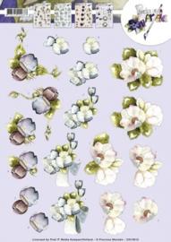 3D Knipvel - Precious Marieke - Bloemen CD10612