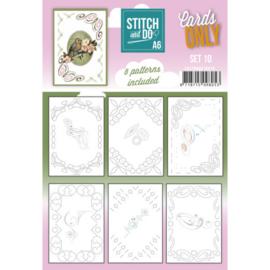 Stitch and Do - Cards Only - Set 10 COSTDOA610010
