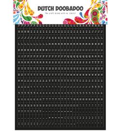 DDBD Dutch Sticker Art Tekst a5 491.200.002