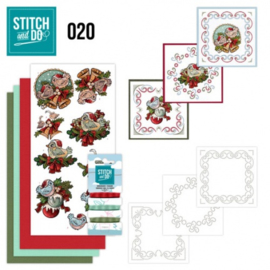 Stitch and Do 20 - Christmas Tweety STDO020