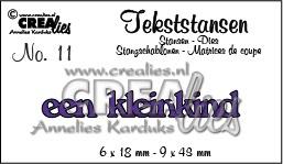 Crealies tekststans - een kleinkind (NL) CLTS11 115634/3111