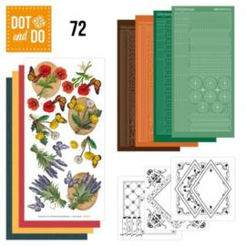 Dot & Do 72 - Wild flowers DODO072
