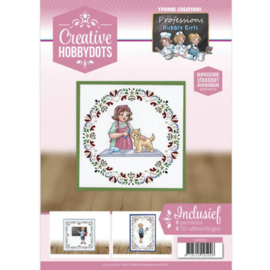 Creative Hobbydots 13 - Yvonne Creations - Bubbly Girls - Professions CH10013