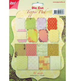 Joy Crafts Die Cut Topper pad 6013/0321