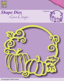 Nellies Choice Shape Die - Rand pompoen SDL013