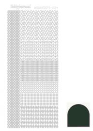 Hobbydots sticker - Mirror - Christmas Green 004 STDM04J